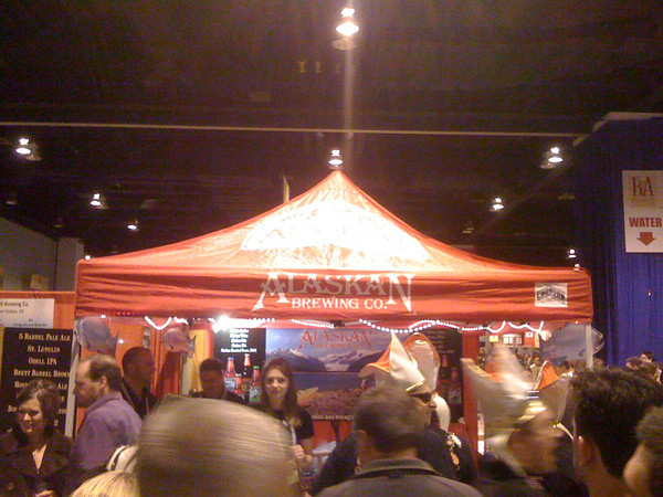 Alaskan Brewing Booth