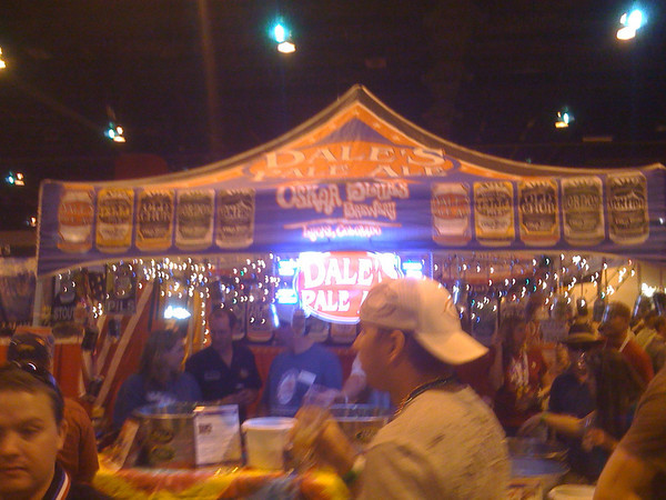 Oskar Blues Booth