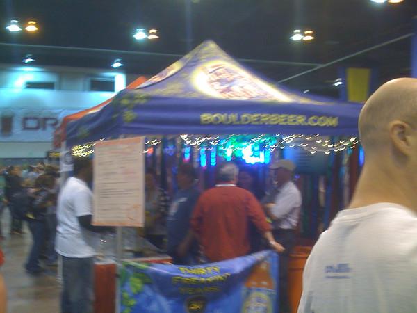 Boulder Beer Booth