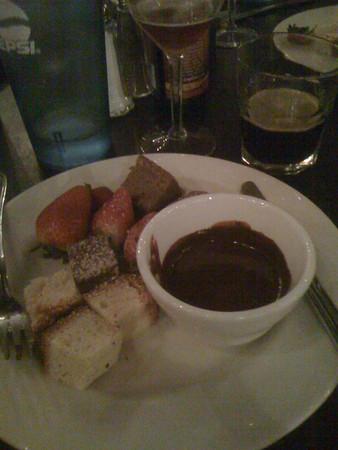 Beer Dinner Dessert