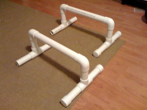 DIY Parallettes   The Porter Method